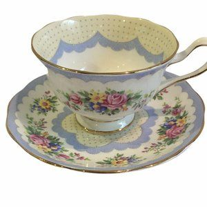 """Sold Albert Crown China """"Prudence"""" Cup & Saucer"""